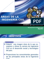 ÁREAS INGENIERÍA CIVIL