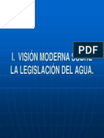 Visión moderna sobre la Legislación del Agua a nivel mundial y el caso particular de México