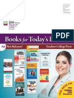 Educational Policy, Teachers College Press. Fall 2013