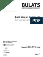 110078 Handbook for Spanish BULATS in Spanish