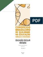 EDUCACAO ESCOLAR INDIGENA