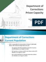 WA-DOC Prison Capactiy