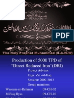 Designing of Steam Reformer& Heat Recovery unit in Direct Reduced Iron Production(DRI)