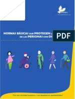 Normas básicas que protegen los derechos de las personas con discapacidad