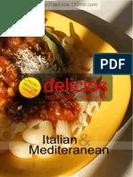 Delicios Nr2 Retete Italian & Mediteranean