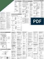 Manual Grabadora Sony ICD-P210