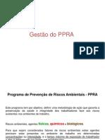 Material - Gestão do PPRA