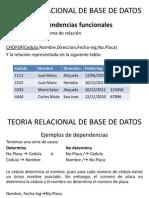 Teoria Relacional de Base de Datos