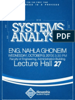 Alexandria ACM Student Chapter | Systems Analysis