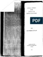 Council on Foreign Relations Rosters 1955-1964