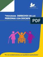 Programa Derechos de las Personas con Discapacidad de APRODEH