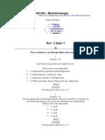 QUIZ 1 ACTIVIDAD 5(3) Morfofisiologia