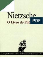 O Livro Do Filosofo Friedrich Wilhelm Nietzsche