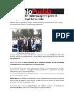 10-10-2013 Sexenio Puebla - Moreno Valle Entrega Apoyo Para El Campo en Chalchicomula