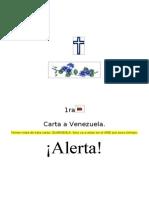 Alerta Venezuela - Llamado urgente a los venezolanos