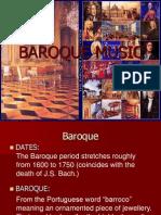 Baroque Music Yr10