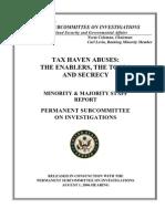 Senate Subcommittee Report