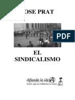33091206 Jose Prat El Sindicalismo