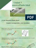 Unidad 3. Hidrodinámica - ideal