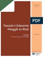 Tunisia's Islamists Struggle to Rule