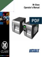Datamax M_Class Operator Manual