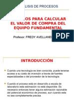 Clase 2 Estimación del costo de los equipos FAV.ppt