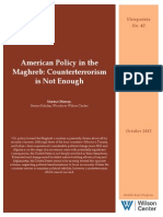 American policy in the Maghreb is not enough