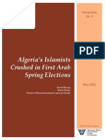 Algeria's Islamists Crushed in First Arab Spring Elections