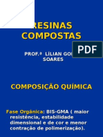 AULA RESINAS COMPOSTAS