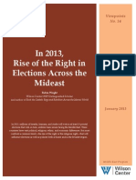 In 2013, Rise of the Right in Elections Across the Mideast