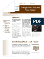 Immigration Insiders Summer Newsletter 2013