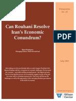 Can Rouhani Resolve Iran's Economic Conundrum?