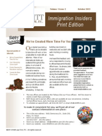 Immigration Insiders Fall 2013 Print Edition