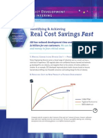 SES - Real Cost Savings