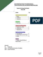 Summary Table Waxes-Specs & Auth-Feb 2009