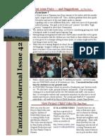 OCT Project Child Tanzania Journal!