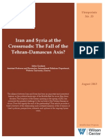Iran and Syria at the Crossroads