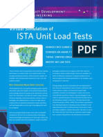 SES - Virtual Simulation ISTA Unit Load Tests