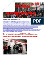 Noticias Uruguayas Viernes 11 de Octubre Del 2013