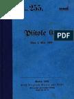 """""""D.V.E.Nr.255"""" Pistole 08. Vom 4. Mai 1909."""