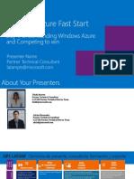 Windows Azure Fast Start - Module 01 - Understanding Windows Azure and Competing to Win_spanish