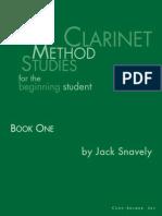 CLARINETE - MÉTODO - Leblanc (AVP103) Livro de Estudos - Volume 1