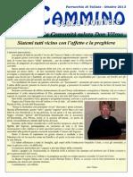 In Cammino - senza frontiere - Edizione speciale - Parrocchia di Vailate - Ottobre 2013