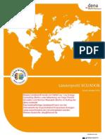 Exportinitiative Erneuerbare Energien, Laenderprofil Ecuador 2009