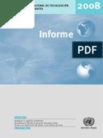 INCB Annual Report 2008 Spanish