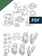 Diorama Ikan Kecik