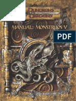 MONSTRUOS Manual de Monstruos V