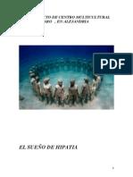 Anteproyecto de Centro Multicultural y Faro Hipatia (Completo )