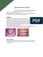 _1_Regressive Alterations of Teeth