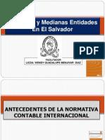 Antecedentes Pymes en El Salvador